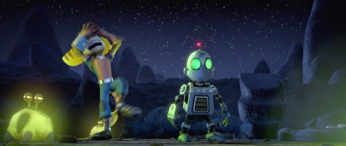 Clank je vlastně robot.